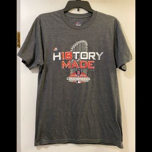 History Made Boston 2018 World Series champs tee